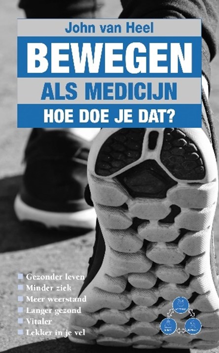 Boek Beweging als medicijn, hoe doe je dat?