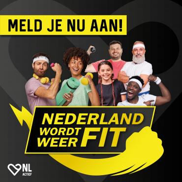 Doe GRATIS mee met Nederland wordt weer Fit!